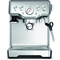 Breville The Infuser Espresso Machine, Brushed Stainless Steel BES840BSS