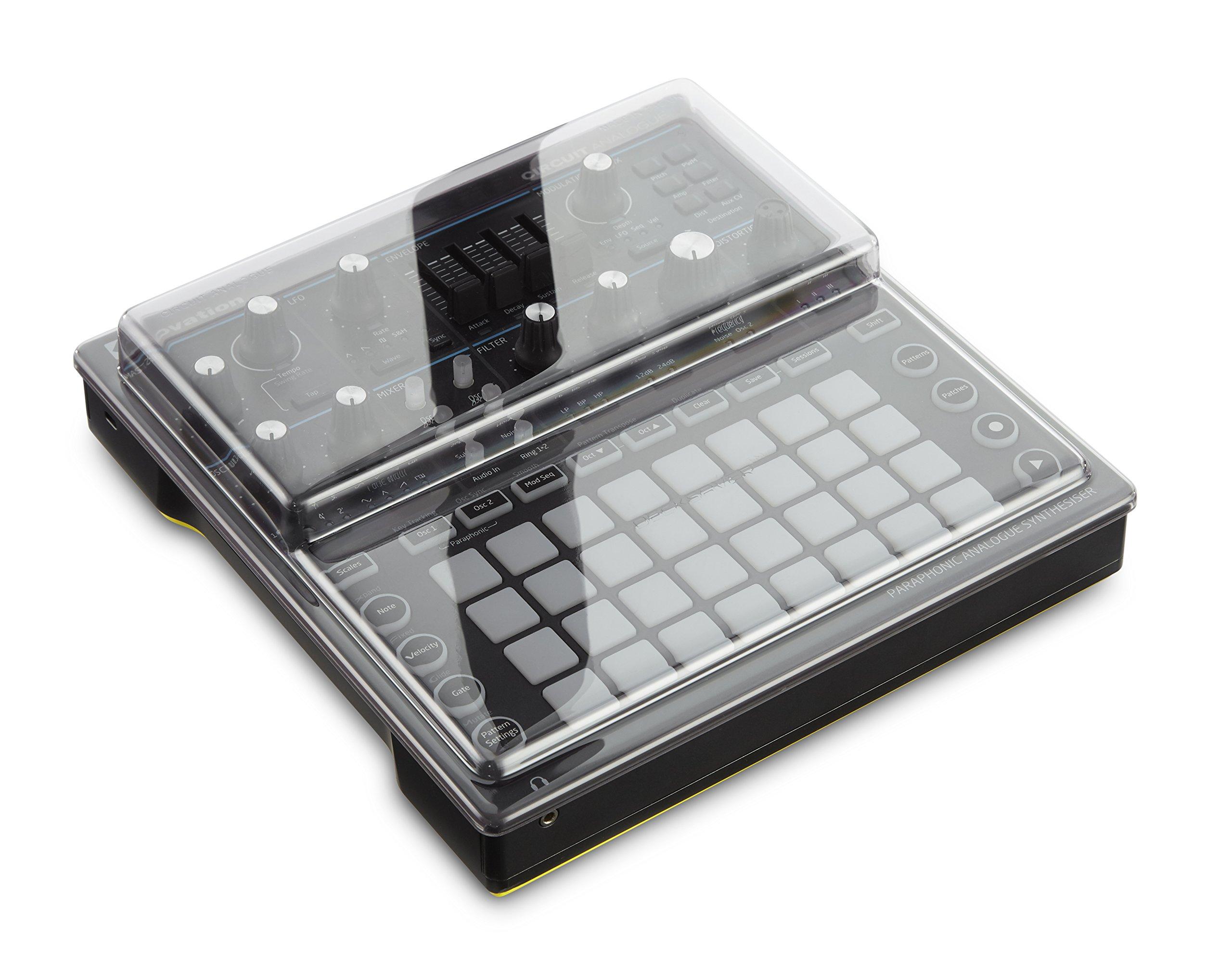 Decksaver DS-PC-CIRCUITMONO Polycarbonate Cover for the Novation Circuit Mono Station Analog Synthesizer