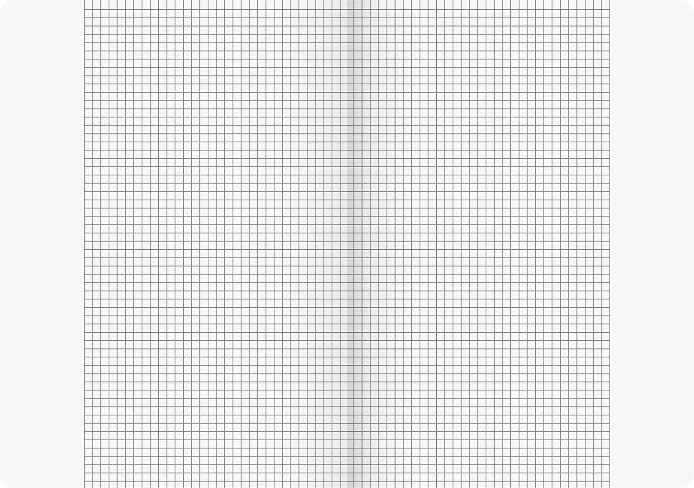 Brunnen 104472602 Schulheft A4 Vivendi 16 Blatt, 5 mm kariert, mit Rand, Lineatur 26 16 Blatt, liniert, mit Rand, Lineatur 27 /& 104492702 Schulheft A4