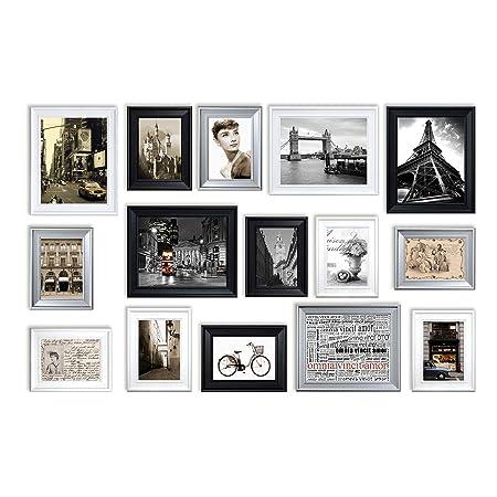 Rd15 Bsw Modern Set 90cm X 140cm Photo Frame Wall Set Large