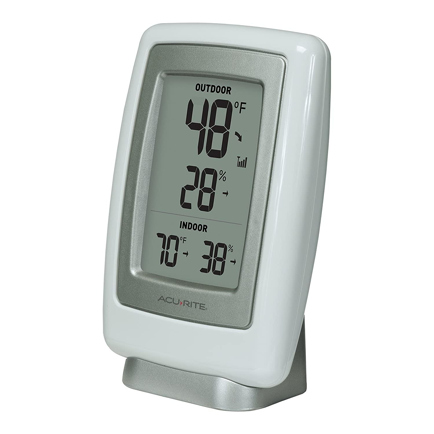 amazon com acurite 00611a3 wireless indoor outdoor thermometer