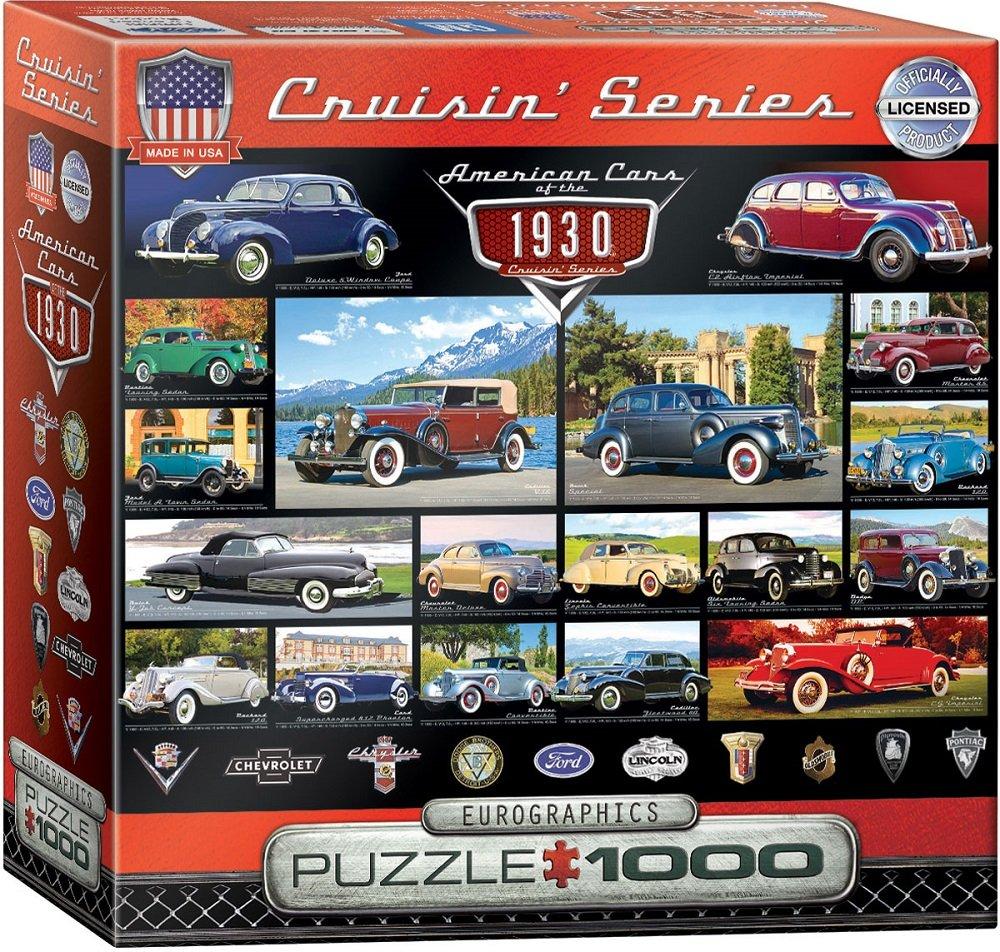 EuroGraphics 1930's Cruisin' Classics Puzzle (1000 Pieces)