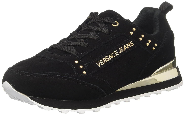 Versace Jeans Ee0vrbsd2_e70019, Zapatillas para Mujer 40 EU|Negro (Nero E899)