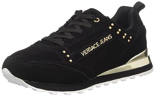 Versace Jeans EE0VRBSA1_E70027, Zapatillas para Mujer, Negro (Nero E899), 37 EU