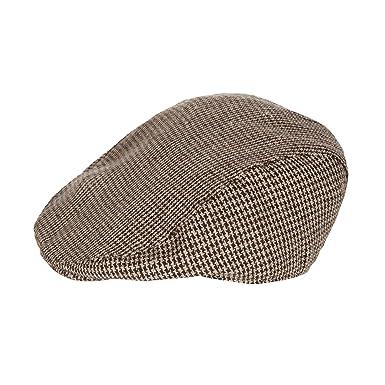 Kids Designer Babies Brown Tweed Flat Cap Age 0-2 Years  J by Jasper ... 12c99b6be0a