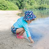 i play. Baby Girls Snap Reusable Absorbent Swimsuit