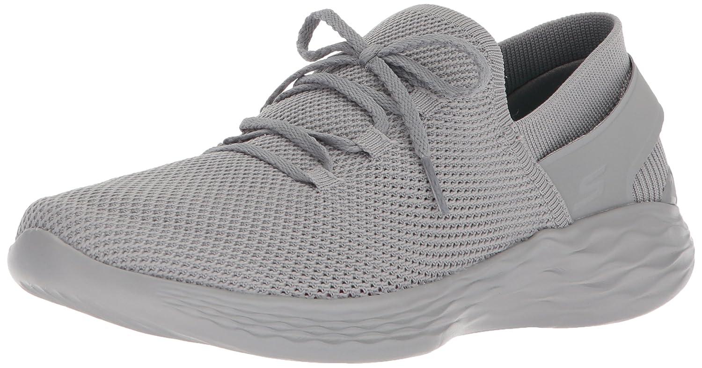 Skechers Women's You-14960 Sneaker B071K16KLN 7 B(M) US|Gray