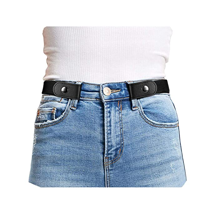 Amazon.com: Cinturón elástico sin hebillas, cómodo, para ...
