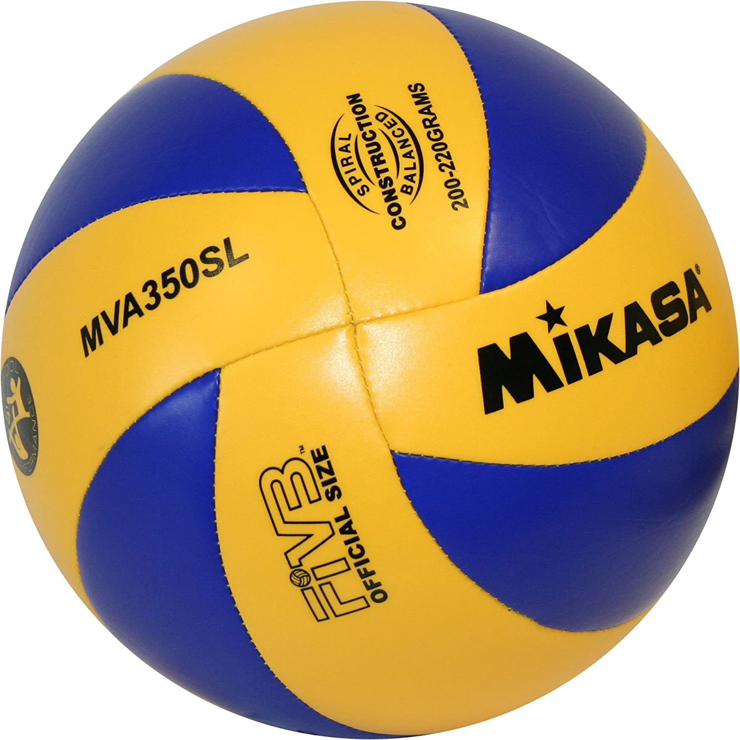Mikasa MVA 350SL Light DVV - Pelota de Volley Playa (200-220 g ...