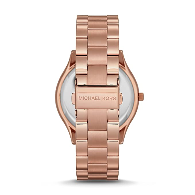 c7959521bef8 Amazon.com  Michael Kors Women s Runway Rose Gold-Tone Watch MK3197  Michael  Kors  Watches
