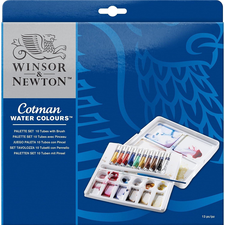 Winsor & Newton - Acuarela Cotman - Caja metálica metálica metálica 24 medio godets 0368ac