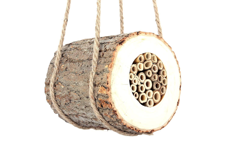 Wildlife World Pollinating Bee Log PBL 16086