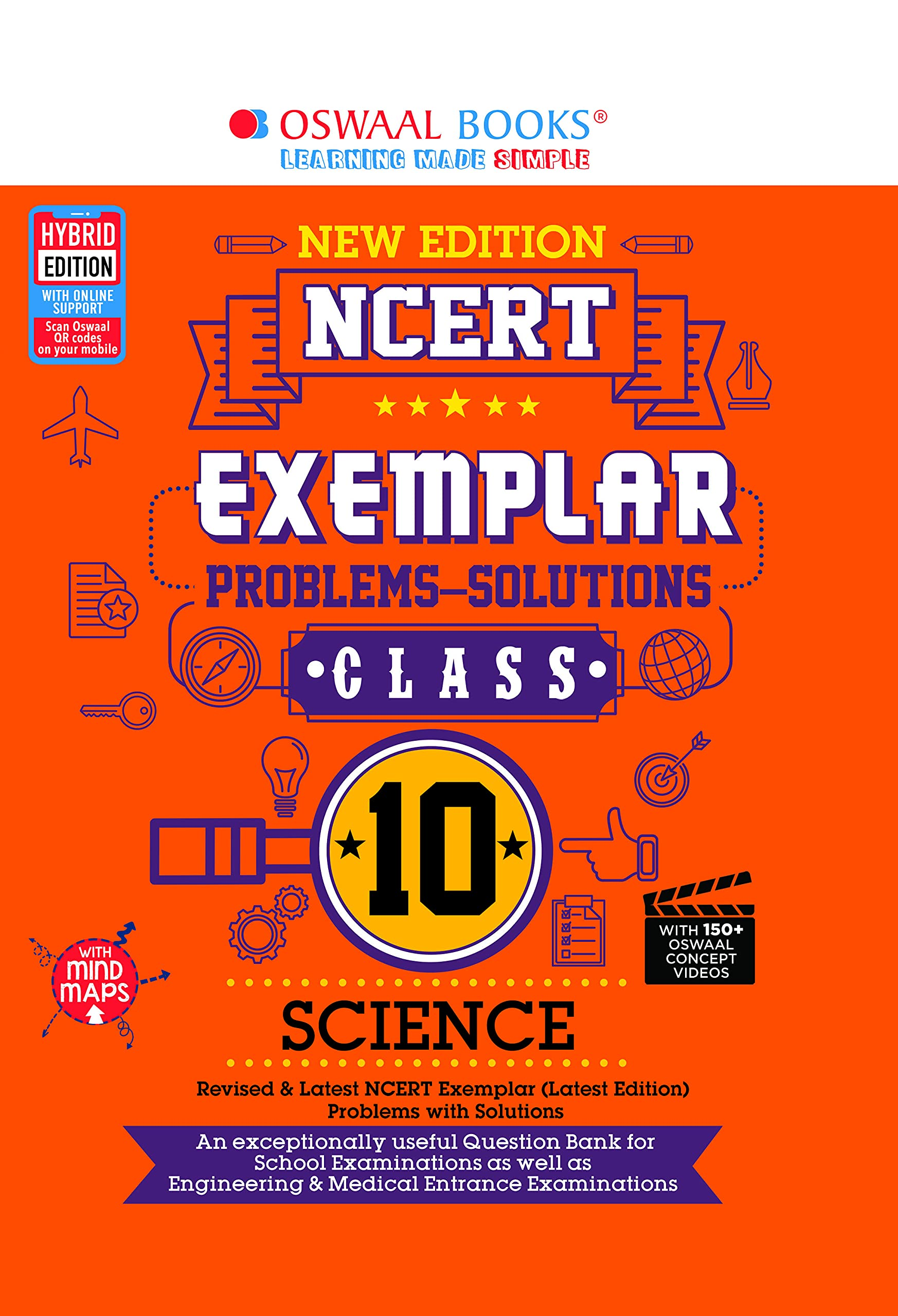 Oswaal NCERT Exemplar Problems-solutions Class 10, Science (For 2022 Exam)