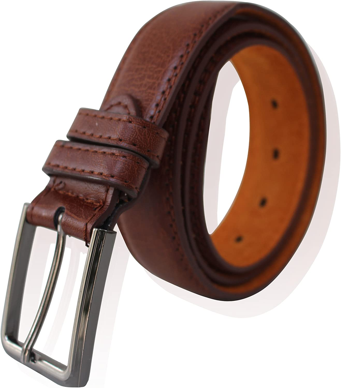 Childrens Leather Dress School Belt Sizes 14-30 Streeze Boys Real Leather Belt