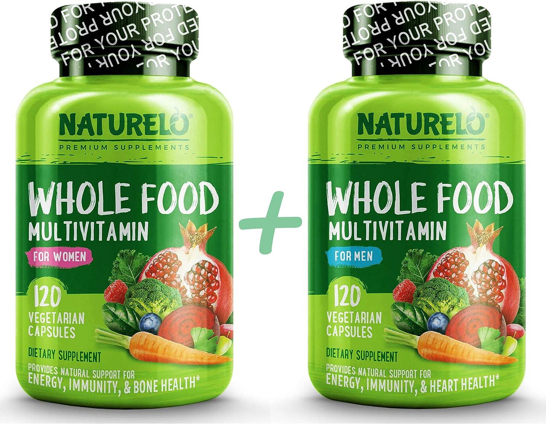 Bundle: Whole Food Multivitamin for Women + Whole Food Multivitamin for Men