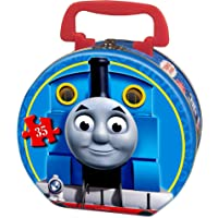 Thomas & Friends Snowy Day 35-Piece Puzzle in a Round Tin