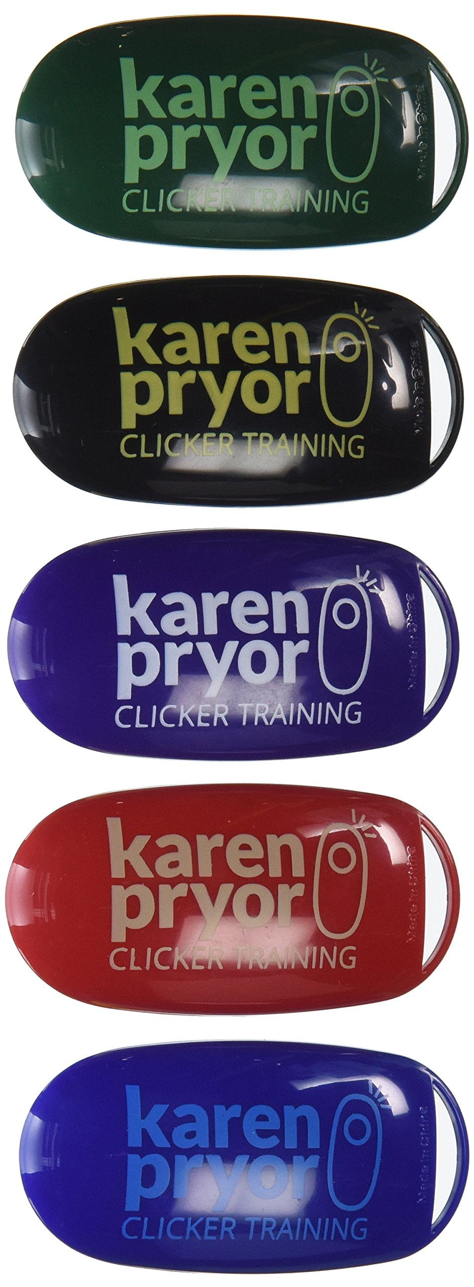 Karen Pryor i-Click Clicker 5 Pack by KPCT