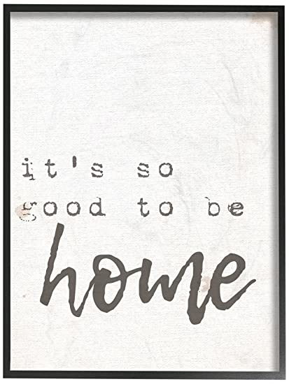 El Stupell Home Décor Collection su So Good to be Home Máquina de Escribir Tipografía Lienzo