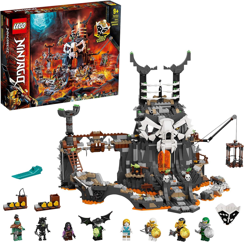 レゴ(LEGO) ニンジャゴー 魔界の砦 スカルジャイル 71722