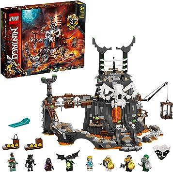 Ninjago TV Series Mazmorras del Brujo de los Muertos 2en1 Set de Construcción y Juego de Mesa con 8 Minifiguras, multicolor (Lego ES 71722): Amazon.es: Juguetes y juegos