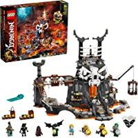 LEGO NINJAGO Skull Sorcerer's Dungeons 71722 building set and board game with 8 minifigures, Toy for kidss 9+ years (1171 pieces)