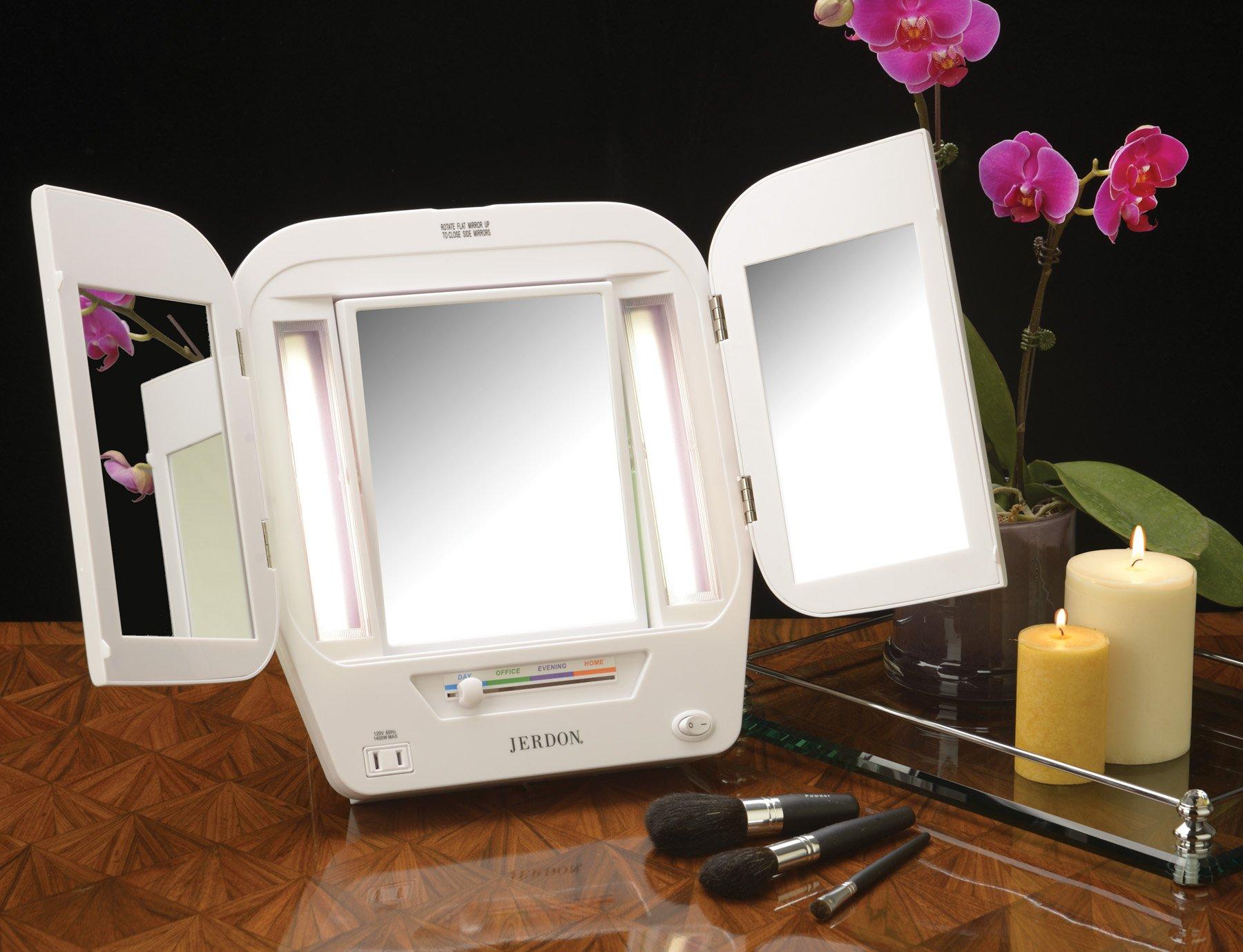 Jerdon-Makeup-Mirrors-Various-Types