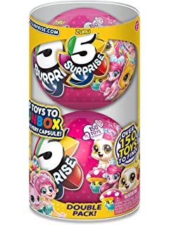 Amazoncom 5 Surprise 2 Pack Mini Brands Collectible Capsule Ball