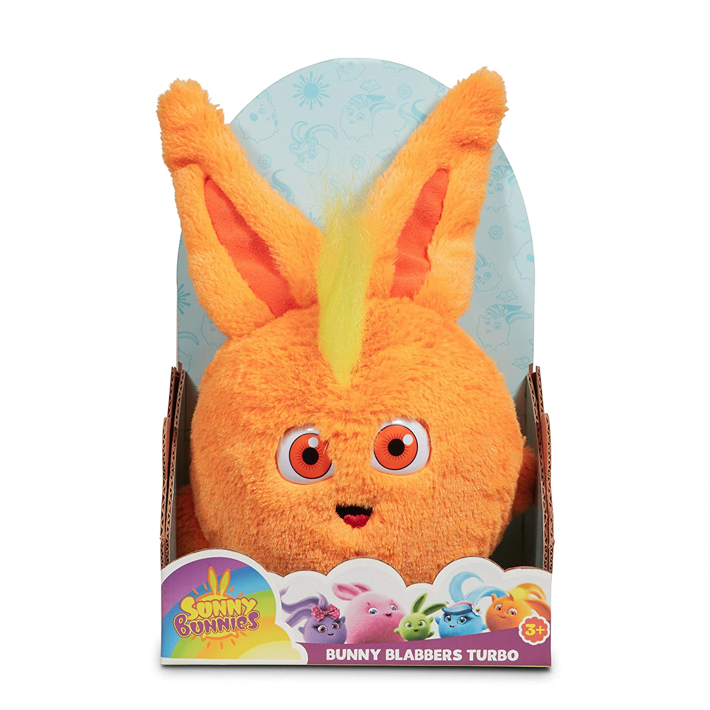Amazon.com: Sunny Bunnies Bunny Blabbers - Turbo Toy, Orange: Toys & Games
