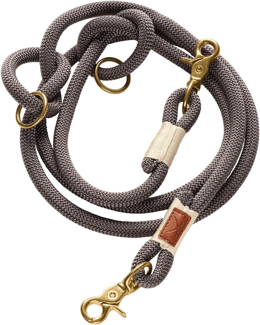 HUNTER Adjustable leash Sansibar Rantum 12//200 Rope tan
