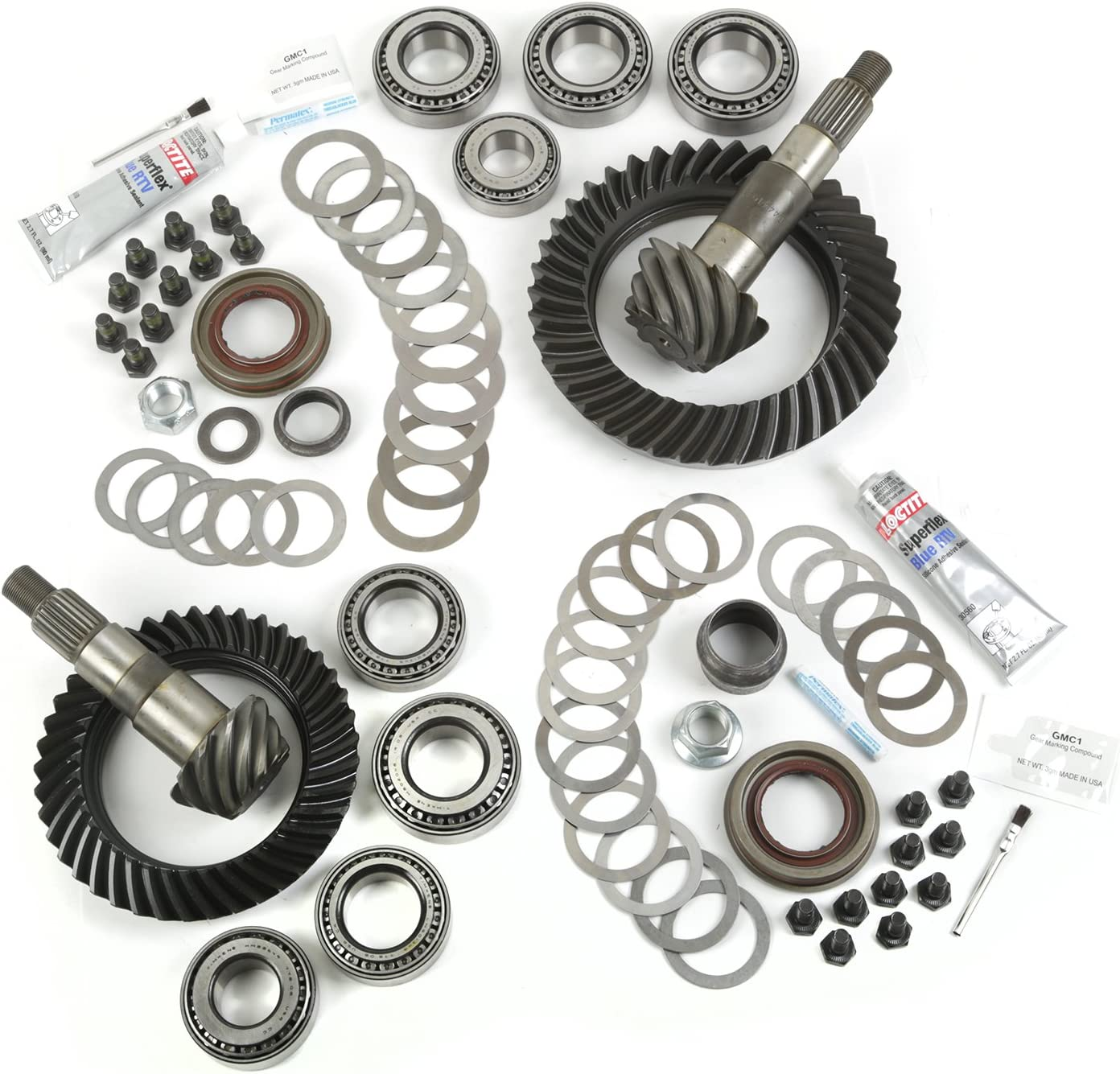 B00KVDZOSY Alloy USA 360002 4.10 Ratio Ring and Pinion Kit for Dana 30/Dana 44 Axles 81IfLbdXbgL.SL1500_