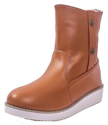 Correct Zip Talon Femme Unie à Pointu Shoes AgeeMi Bottes Couleur 0Nn8yOmwv
