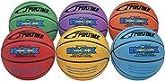SportimeMax Junior Basketballs, 27 Inches, Multiple Colors, Set of 6
