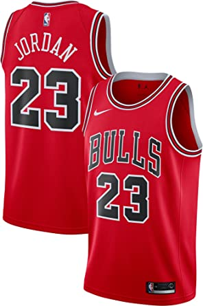 a57c2d0c7 ... authentic nike swingman chicago bulls jersey red michael jordan 23  ao2915 657 size s 4395f a50fc