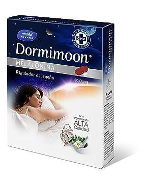 Dormimoon Melatonina Complemento Alimenticio - 30 Unidades: Amazon.es: Salud y cuidado personal