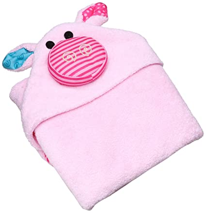 Zoocchini toalla de baño bebé, diseño Pinky El pequeño cerdo