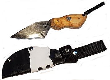 JLBro Pulsam cuchillo acero al carbono, funda Kydex negra y ...