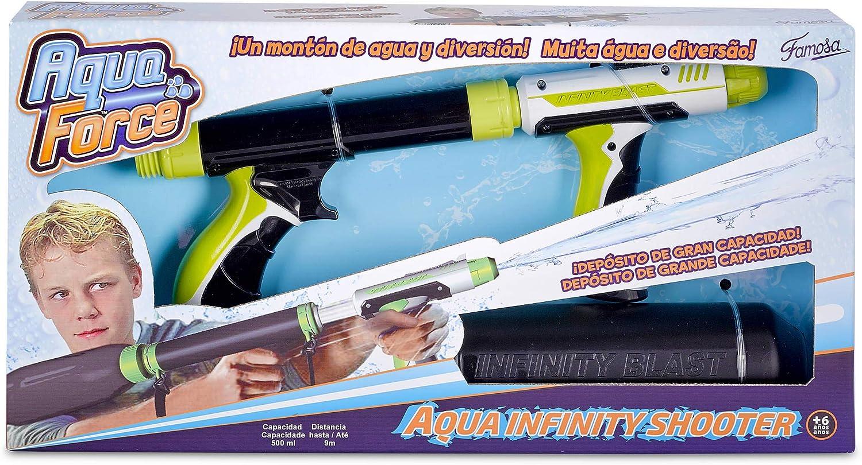 Aqua Force - Pistola de Agua Infinity Shooter (Famosa 700012176): Amazon.es: Juguetes y juegos