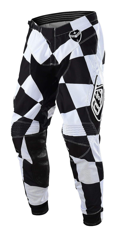 34 Vita = Eu 48 , Bianco Pantaloni Motocross Troy Lee Designs 2018 Se Joker Bianco-Nero