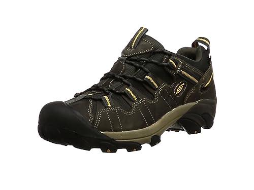 51a62f633 KEEN Men s Targhee Ii Mid Wp High Rise Hiking Boots Black  Amazon.co ...