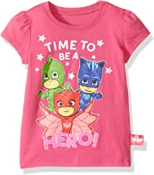 38fcfce1 PJ Masks Little Girl Short Sleeve Tee Shirt
