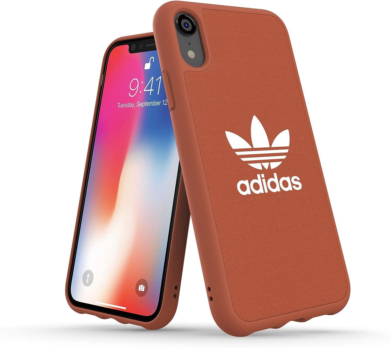 Adidas Originals Adicolor - Carcasa para iPhone XR, Color Rojo Oscuro: Amazon.es: Electrónica