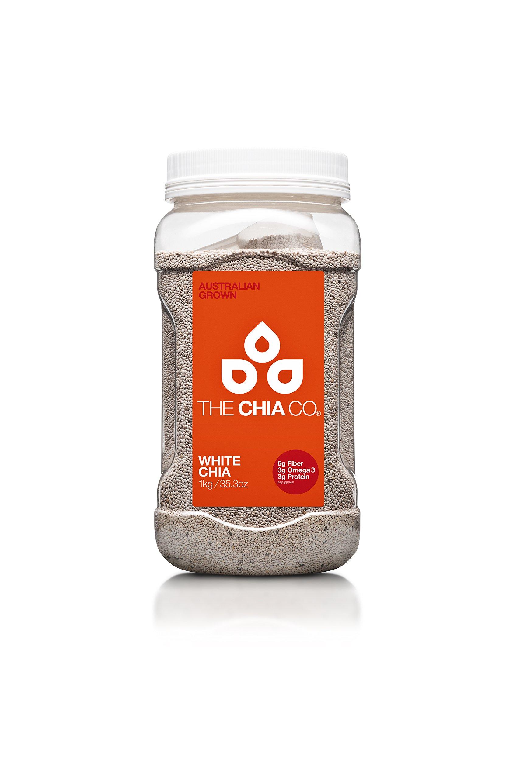The Chia Company Seed Tub, White, 35.3 Ounce