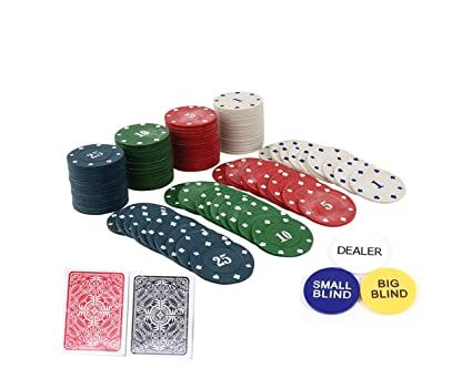 HOW (HOUSE OF WISHES) with Device Poker Chips Casino Party Game (200 Poker Chips)