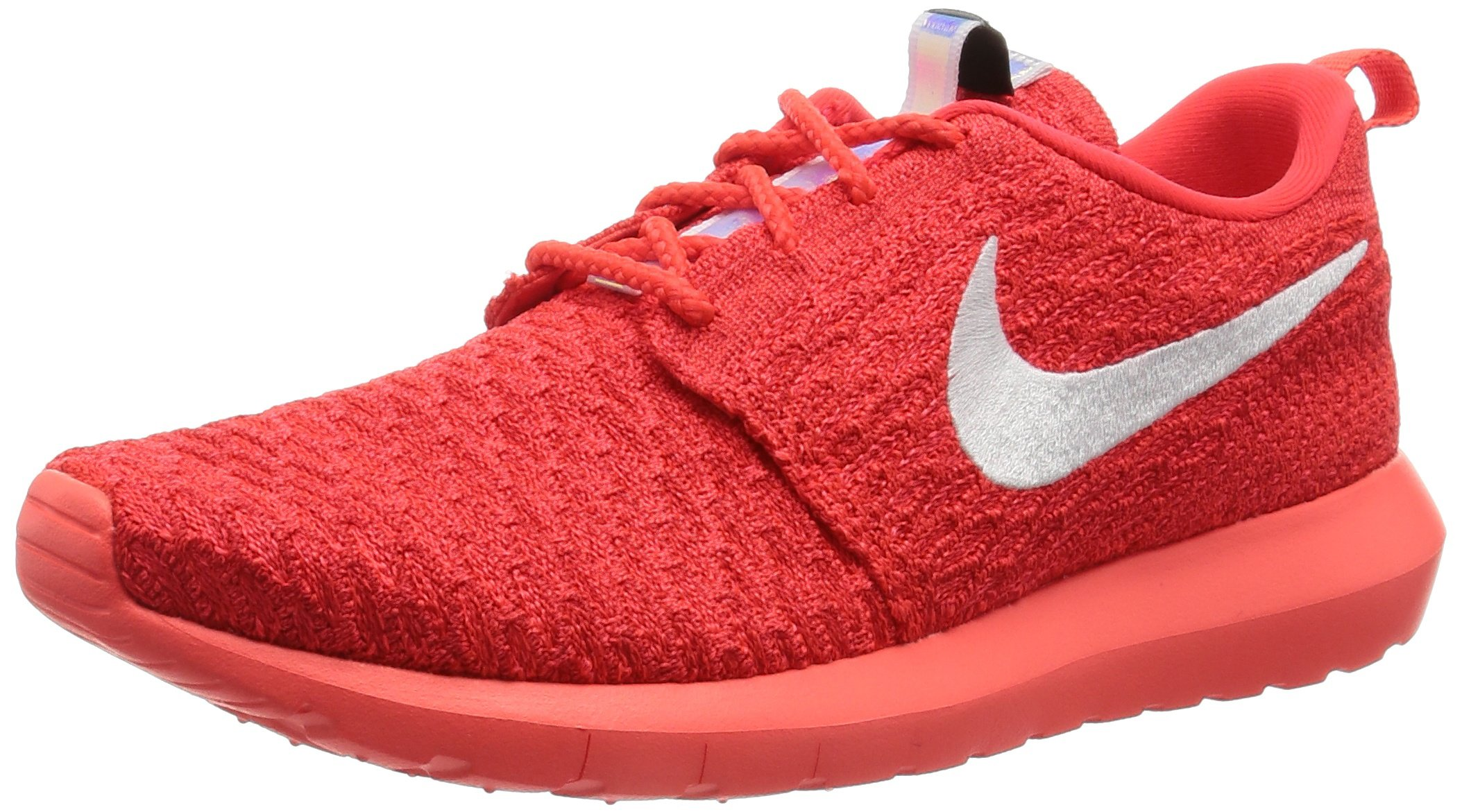 best service 25f70 c1cb6 Galleon - NIKE Men s Roshe NM Flyknit Bright Crimson WHT Unvrsty Rd Running  Shoe 10 Men US 11.5 Women US