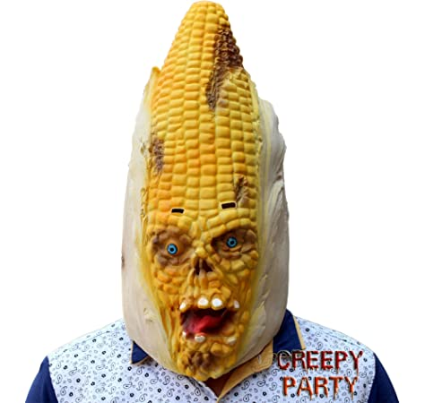 Creepyparty Novelty Deluxe Costume Di Halloween Festa Cry Baby Latex head mask