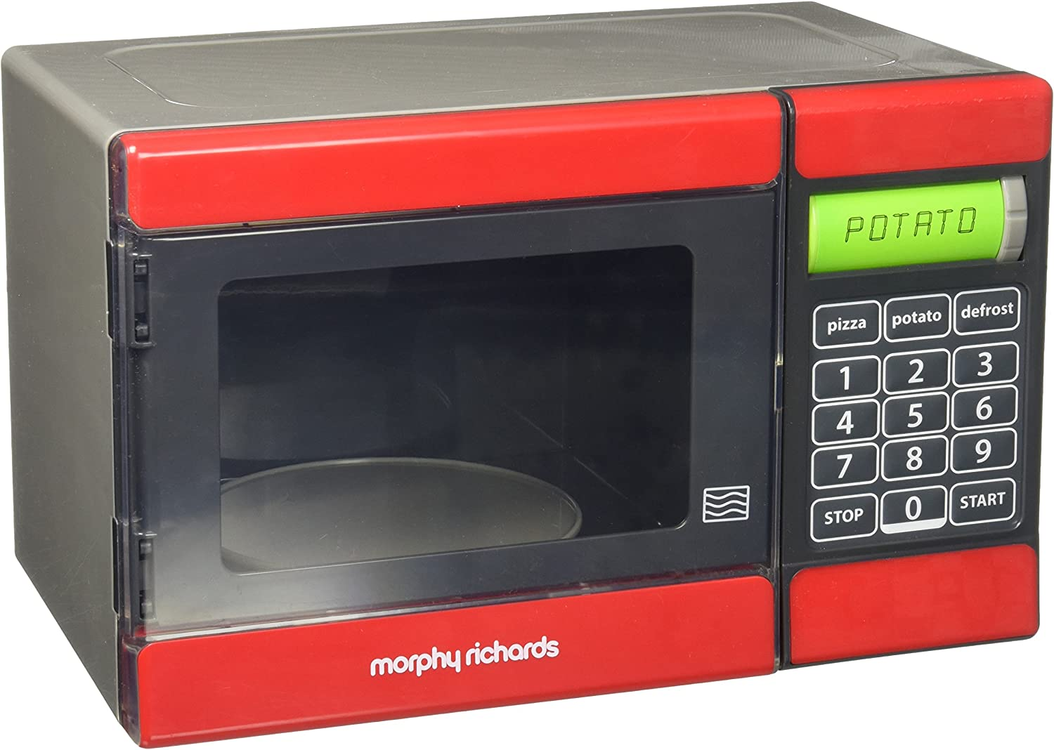Amazon.com: Casdon Morphy Richards Microondas Juguete: Toys ...