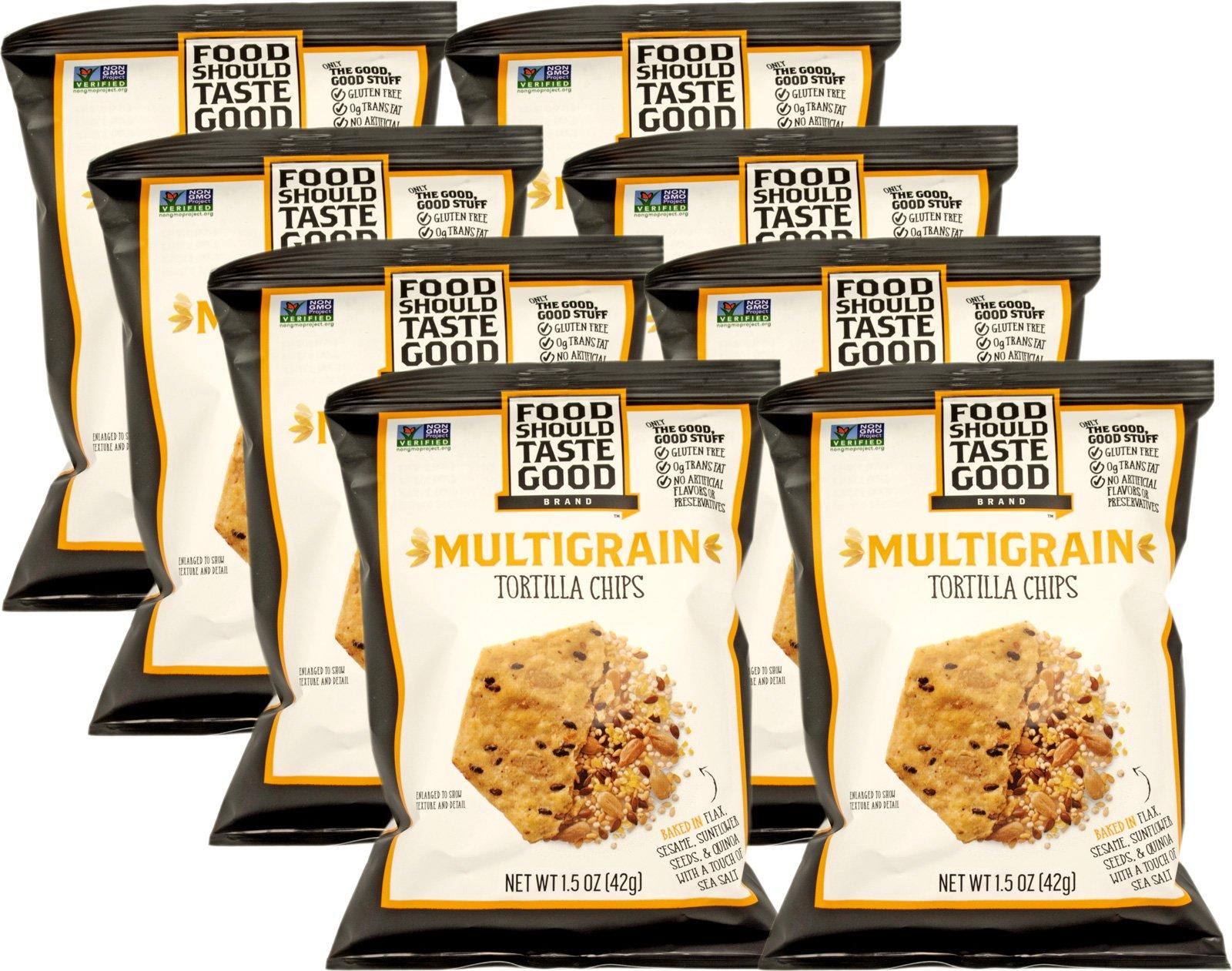 Food Should Taste Good Multigrain 1.5 oz (Pack of 8) by Food Should Taste Good