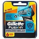 Gillette Fusion Proshield Flexball Chill Men's Razor Blades - Pack of 6