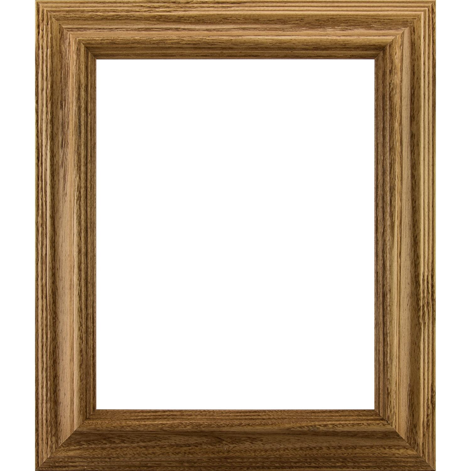 Craig Frames 77332900 8 by 12-Inch Picture Frame, Wood Grain Finish ...