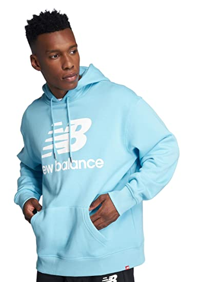 san francisco f07a9 93533 New Balance Hoodie Herren Essentials Stacked Pullover ...
